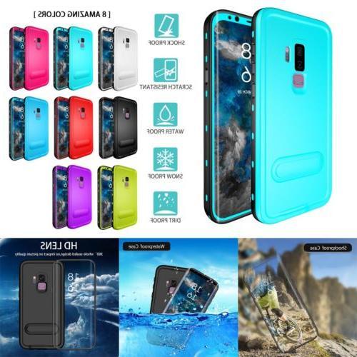 Dustproof Waterproof Case For Galaxy Note S9 S8 S7 Edge