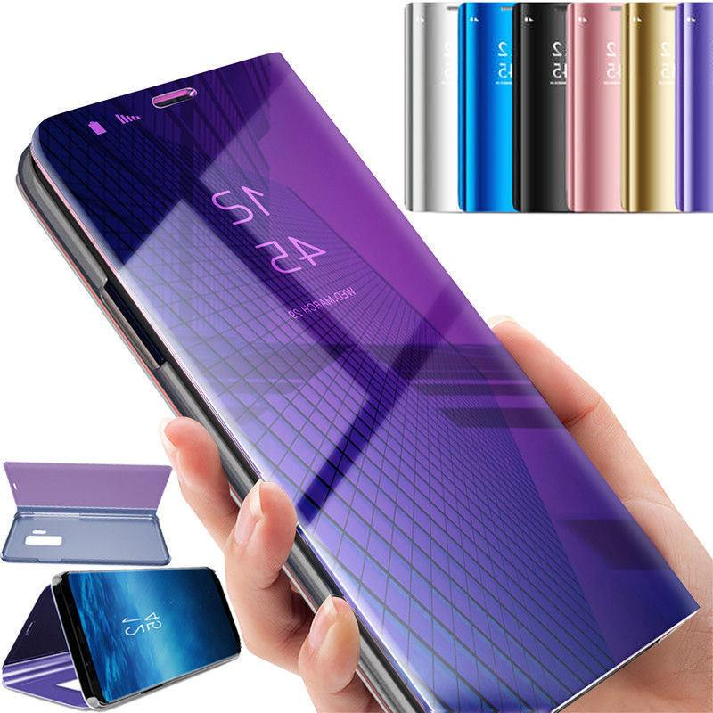 Flip Case for Samsung / Clear Mirror