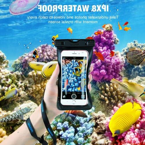 2 pack Underwater Touch Pouch Case iPhone