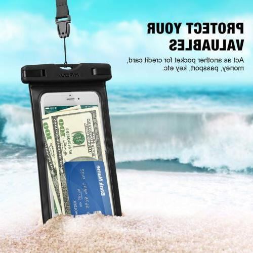 MPOW Floating Waterproof Underwater Pouch Dry Phone New