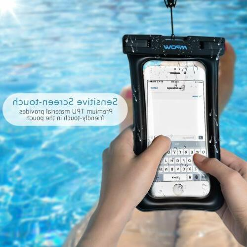 1 Pack MPOW Floating Waterproof Pouch Cover For