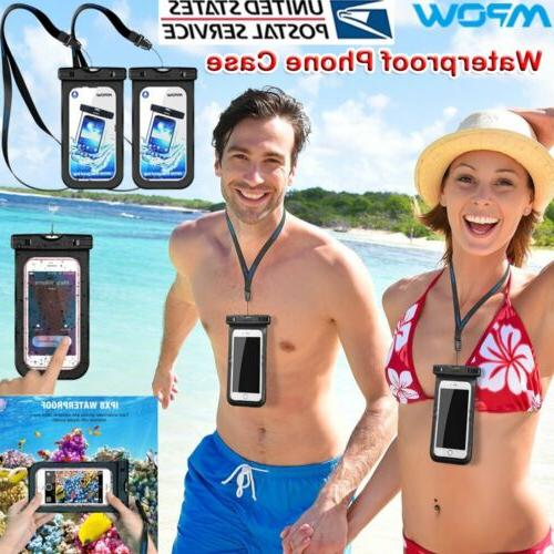 MPOW Floating Waterproof Bag Underwater Pouch Dry Case Phone