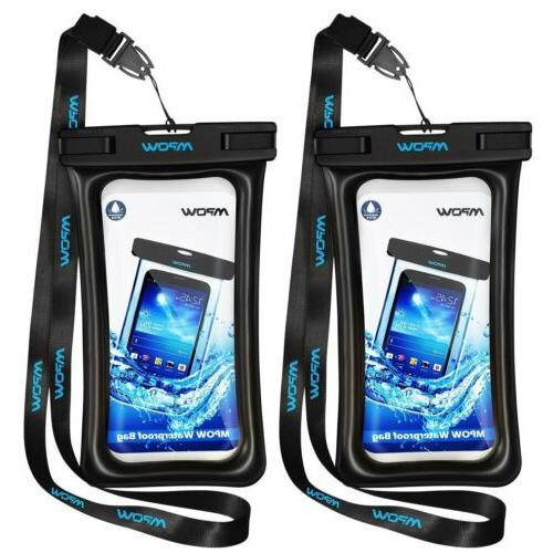 Mpow Floating Waterproof Bag Underwater Pouch Dry Case Cover