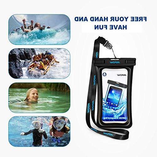 Mpow Phone Floating, Universal Waterproof Case Bag Compatible Max/Xs/Xr/X/8/8plus/7/7plus Galaxy Note Google Pixel up