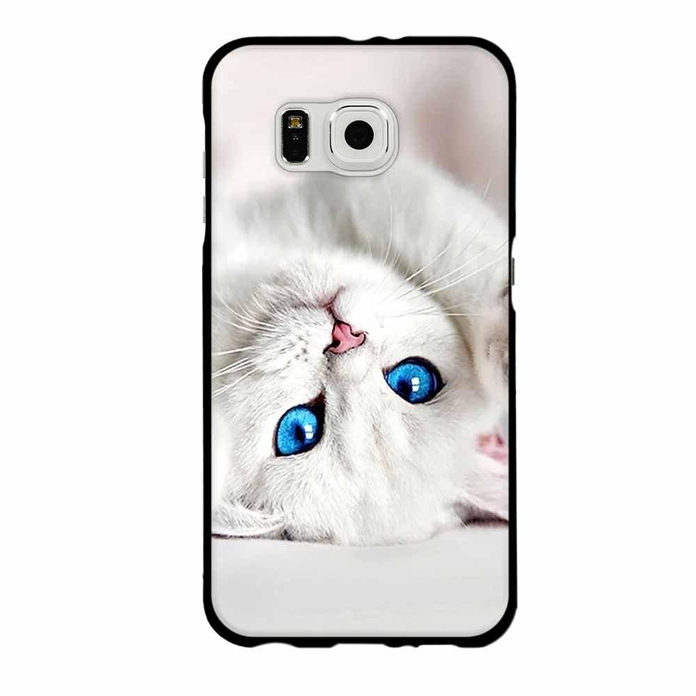 For <font><b>Samsung</b></font> <font><b>Edge</b></font> Soft Cover Cat Case For <font><b>Samsung</b></font> S8 8