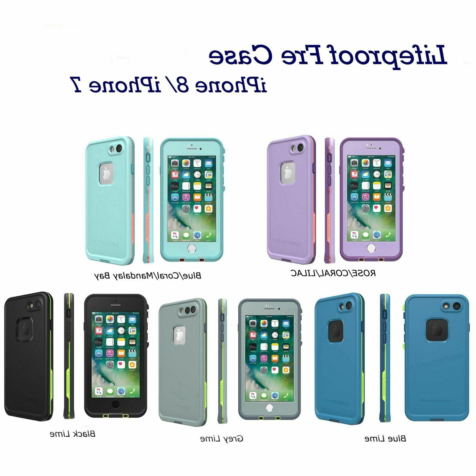 fre series waterproof case for iphone 8