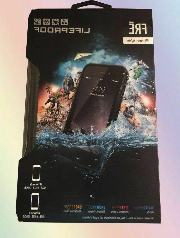 Brand Lifeproof FRE Waterproof Case for iPhone 6/6s  - Black