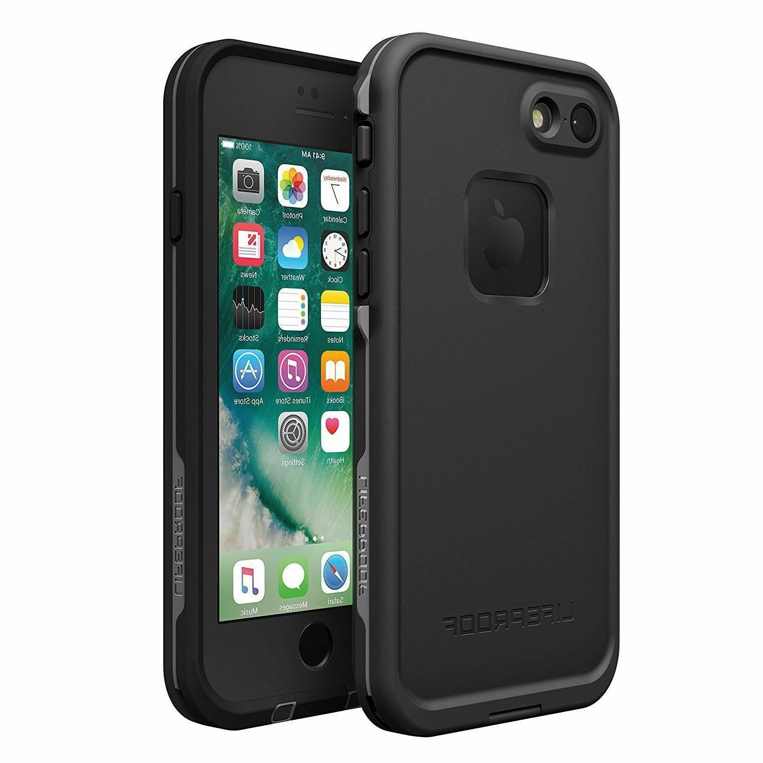 LifeProof FRE Waterproof Case for iPhone 8 iPhone 7 Asphalt