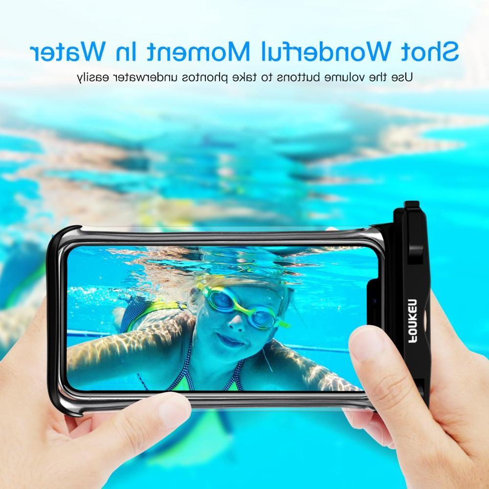 FONKEN <font><b>Case</b></font> Rainforest transparent <font><b>Cases</b></font> dry bag Underwater Phone Covers