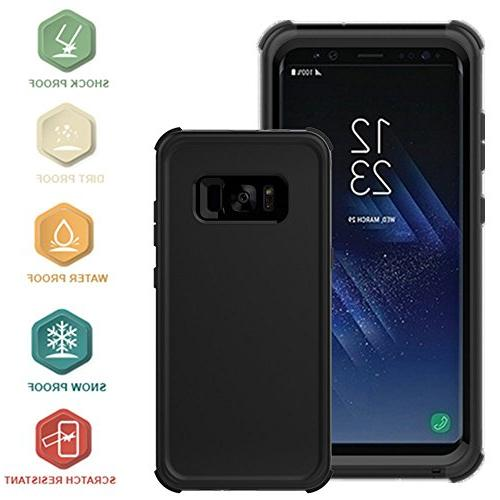 new product 5c442 78165 Galaxy S8 Plus Waterproof Case, Punkcase Armor Cover for Samsung Galaxy S8  Plus