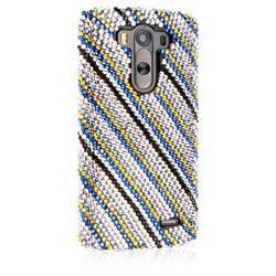 EMPIRE GLITZ Slim-Fit Case for LG G3 - Blue Accent