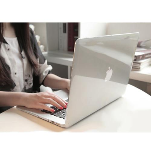 """Glossy Clear Hard Shell Case+Keyboard Cover For MacBook Air 11 Pro 13//15/"""" Retina"""