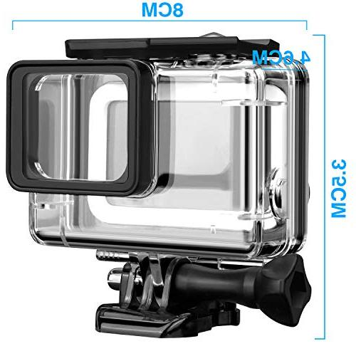 Acalantha with Quick Release Mount and Thumbscrew to 40 Photography, Standard Dive Housing GoPro Hero 7