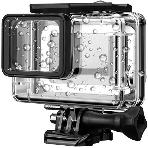 Acalantha GoPro Waterproof Case with Quick and Thumbscrew Up to Photography, Dive Housing Case GoPro Hero 5 7