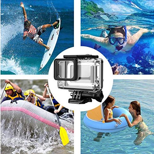 Acalantha GoPro with and Thumbscrew to Underwater Photography, Standard Replacement Protective Dive Case for GoPro 5 7