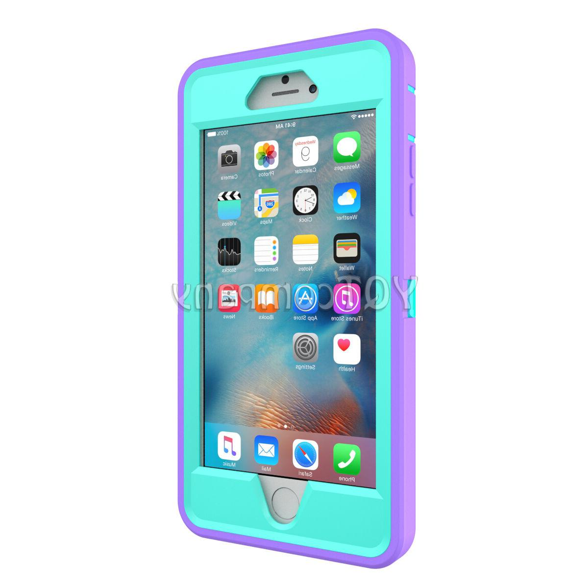 Hard Back Hybrid Phone iPhone 5s 6s Plus Protector