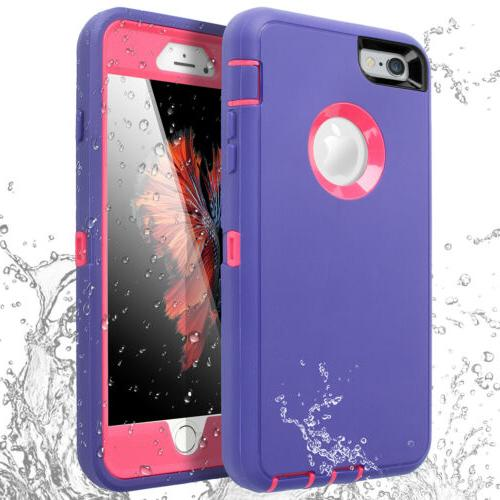 Heavy Duty Waterproof Armor Full For iPhone 7 6 6s Plus