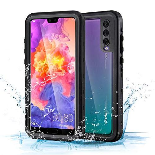 sneakers for cheap ce6b6 cdd0d Mishcdea for Huawei P20 Pro Waterproof Case Shockproof Snow-Proof  Dirt-Proof Full Body Phone Protector Cover