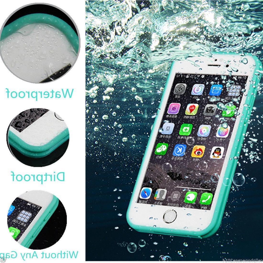 Hybrid Rugged Rubber TPU Shockproof Waterproof Hard Case Cov
