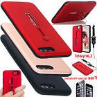 Hybrid Shockproof Hard Slim Armor Stand Case Cover For iPhon
