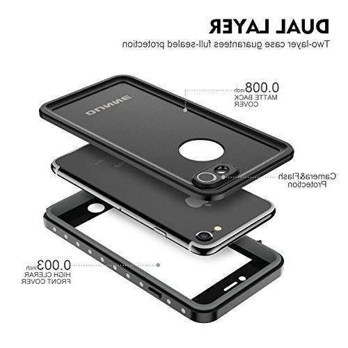 wholesale dealer f3be7 9c170 iPhone 7/8 Waterproof Case, OUNNE Underwater Full Sealed