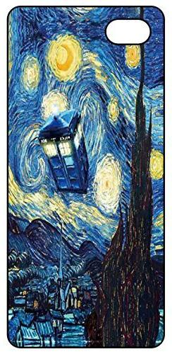 Iphone 5 5s Case Doctor Who Tardis Blue Police Call Box Star