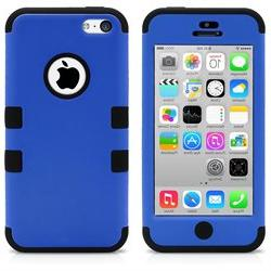 iPhone 5C Case, MagicMobile Hybrid Impact Shockproof Cover H