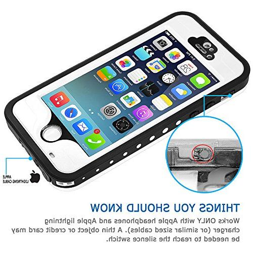 HESGI iPhone 5s Shockproof Case Cover Touch ID for iPhone