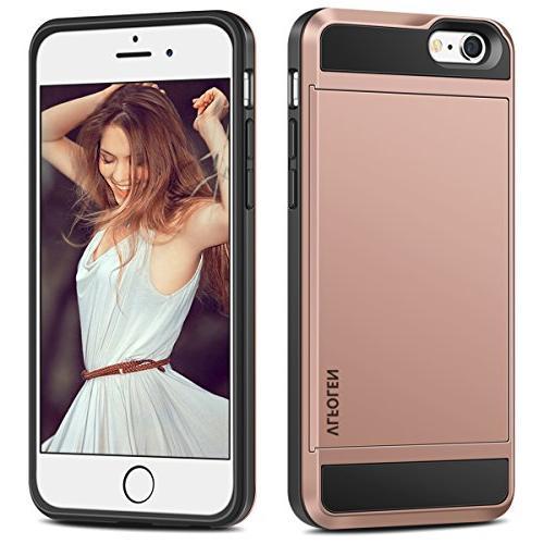 iPhone 6S Case, Impact 6 Protective Shell Bumper Anti-Scratch Hard Cover Skin iPhone Rose