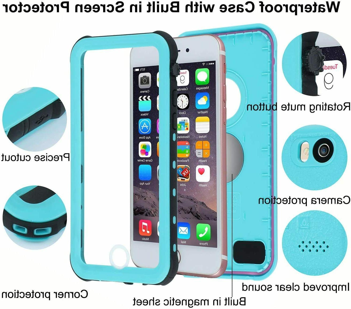 For iphone 6s Plus / shockproof Waterproof Screen Protector