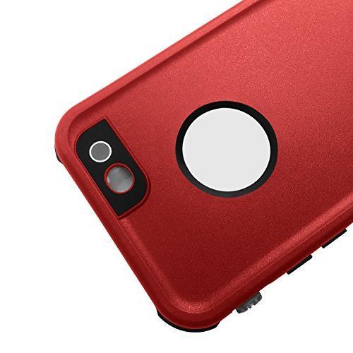 HESGI Waterproof Case, IP-68 Shockproof Dust Proof Proof Case iPhone 6S PLUS 6 PLUS
