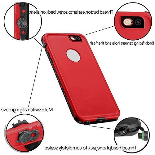 HESGI iPhone Waterproof Shockproof Dust Proof Case Cover iPhone PLUS iPhone 6 PLUS 5.5