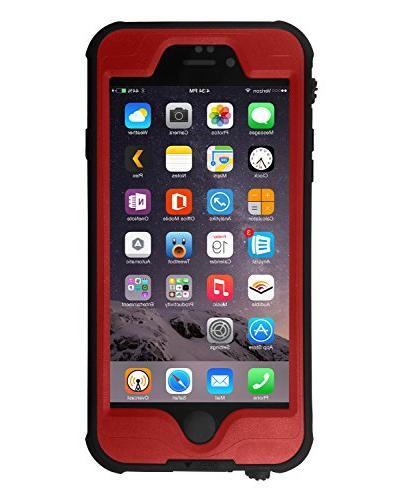HESGI iPhone Waterproof Case, Shockproof Proof Proof Full Protective Case iPhone 6