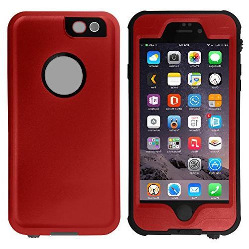 HESGI Waterproof Shockproof Dust Snow Proof Protective Case for iPhone PLUS iPhone 6 PLUS 5.5