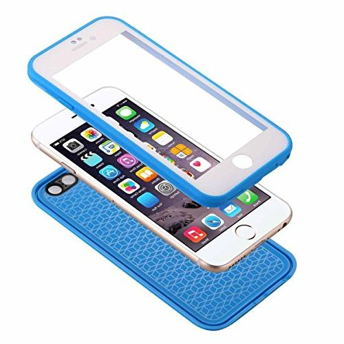 iPhone 6S Waterproof Case, AICase TPU Ultra Thin IPX-6 Shock/Dirt/Dust/Snow Proof Case iPhone 6S 4.7""