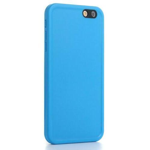 iPhone AICase TPU Thin Light All Blue