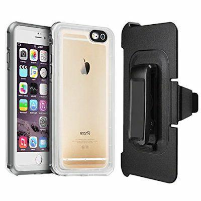 EONFINE Case, iPhone 7/8 Clear Protective Case IP68 T