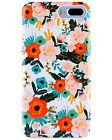 iPhone 7 Plus Case for Girls Floral Cover Soft TPU Bumper Cu