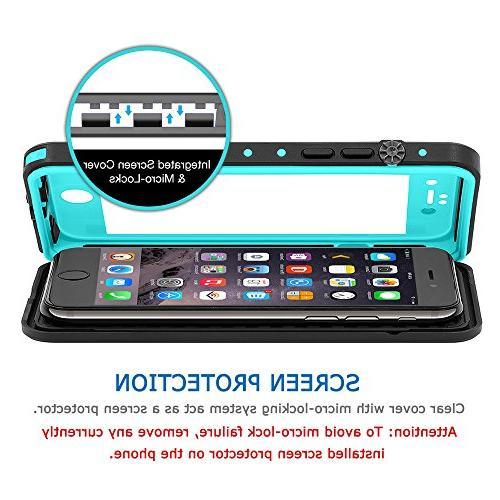 HESGI iPhone 7 Plus case IP68 Dirtproof Phone Case Full Function Sensitive for 7 Plus 5.5inch