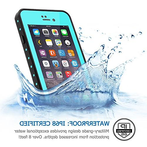 HESGI iPhone 7 Plus case IP68 Waterproof Shockproof Dirtproof Protection Case Sensitive 7 Plus