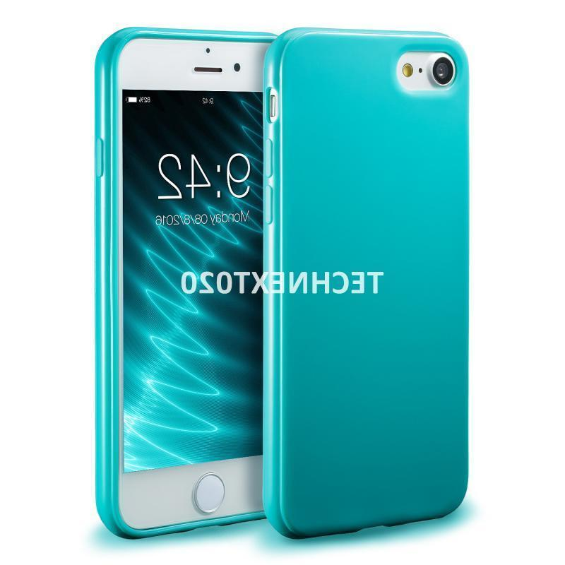 For iPhone 8 7 Plus Case Ultra Soft Silicone Gel Rubber