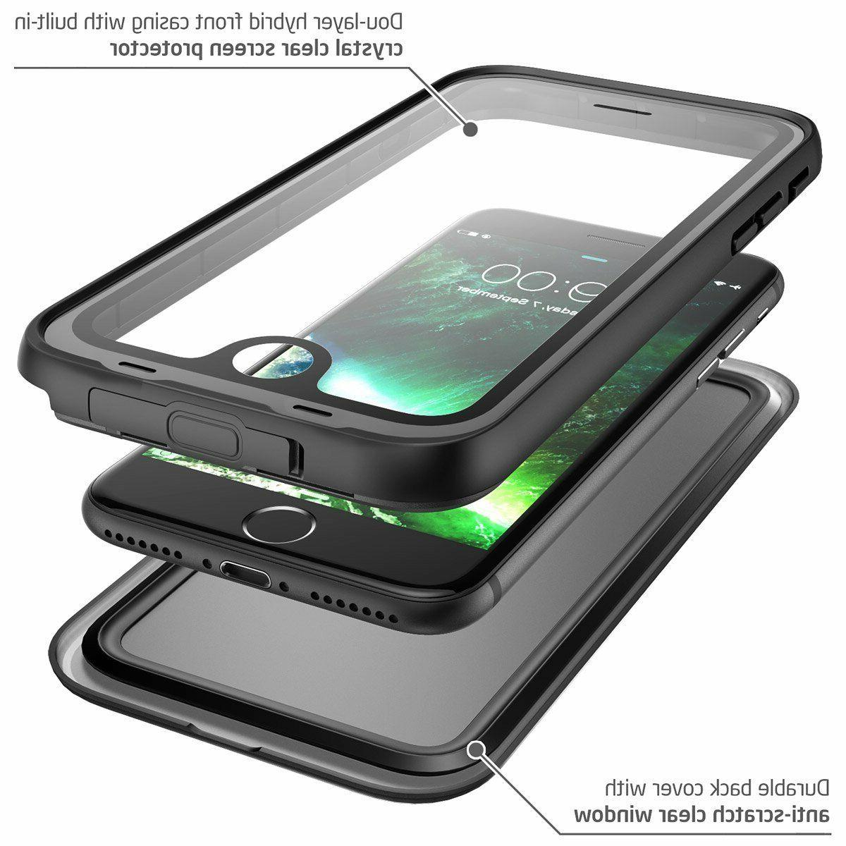 iPhone 8 Plus i-Blason Waterproof Cover w/ Screen