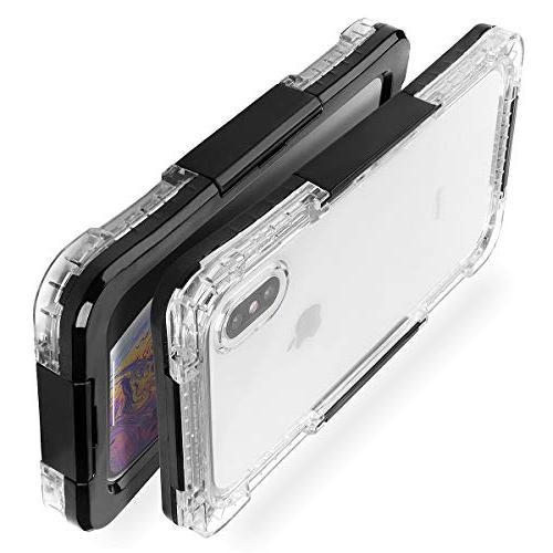 iPhone Xs Waterproof Case, AICase Underwater Body Dustproof