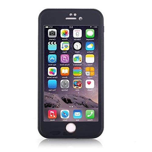 iPhone Waterproof Case, Super Full-Sealed IPX-6 Dust/Snow Proof for