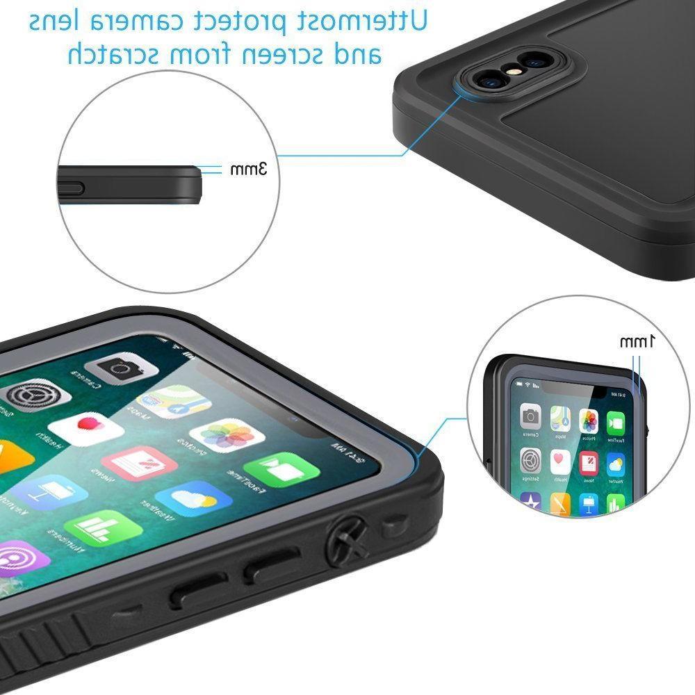 iPhone Waterproof Eonfine Full-body Rugged Case