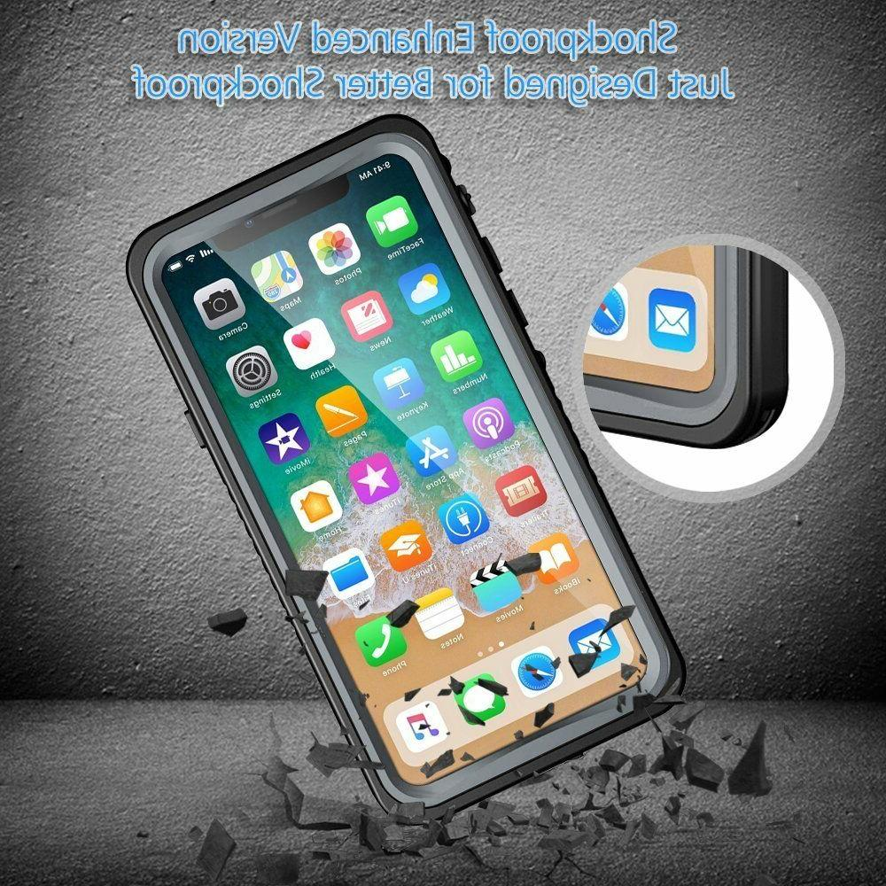 iPhone X Waterproof Case, Eonfine Rugged Protective Case with