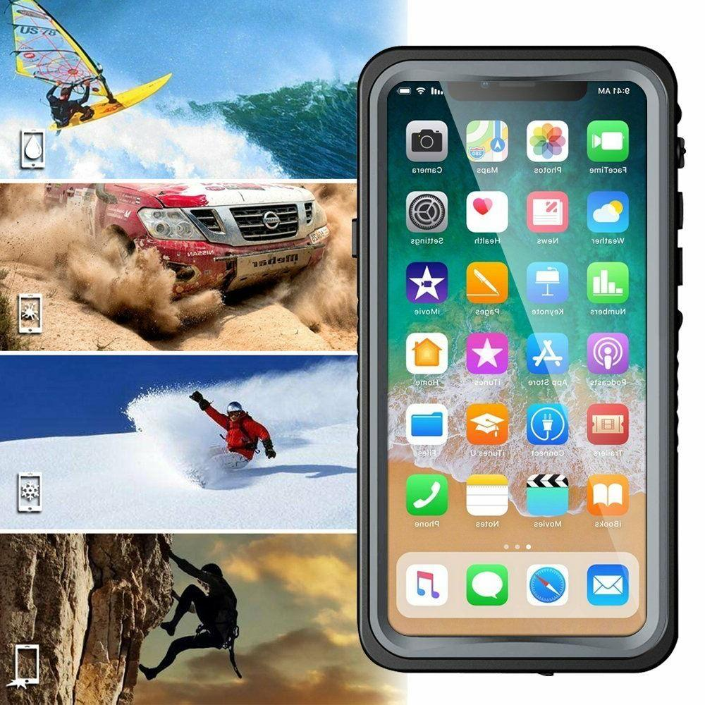 iPhone X Waterproof Case, Eonfine Full-body Protective Case