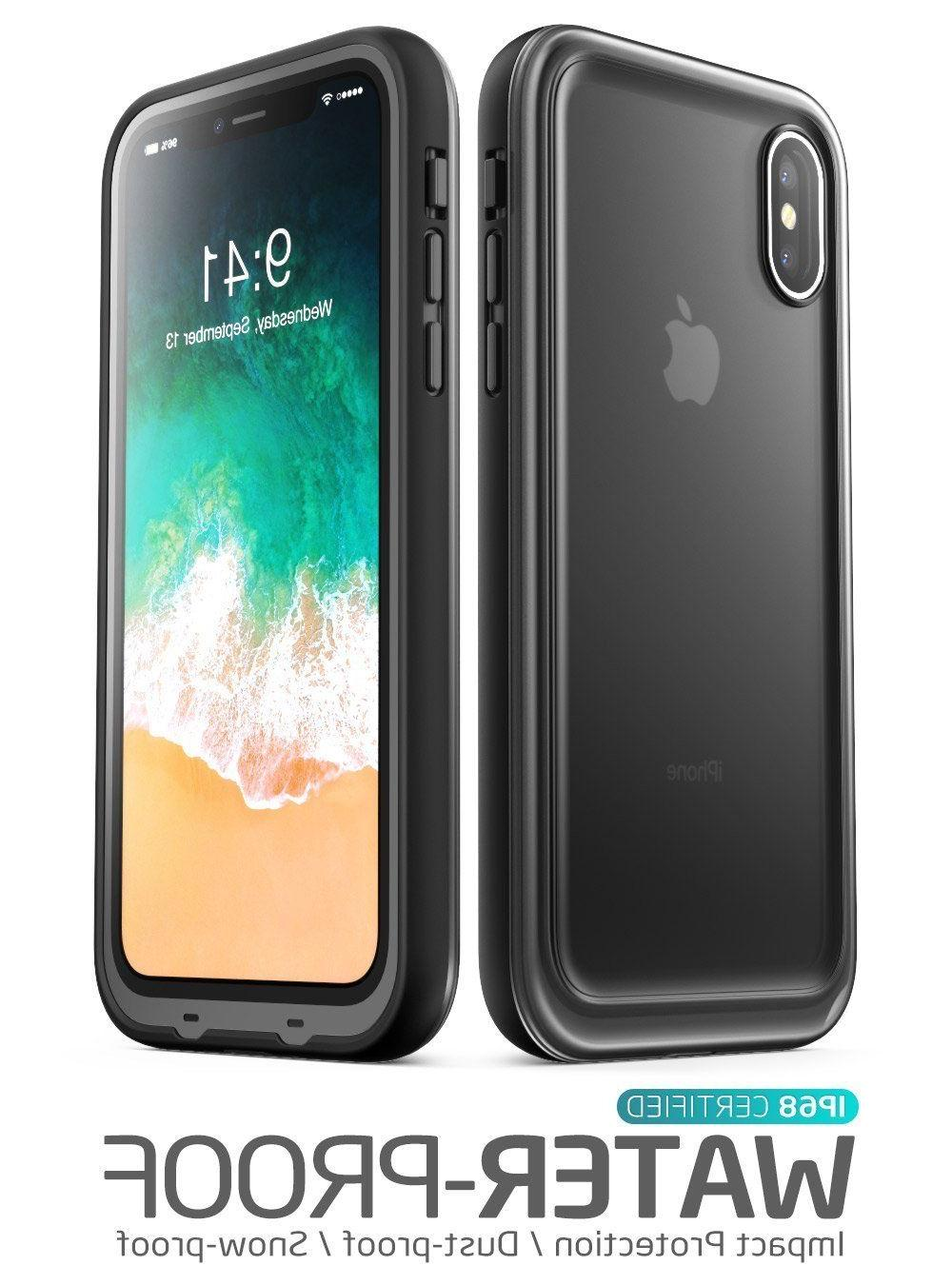 iPhone Case Waterproof Full-body Cover for 10