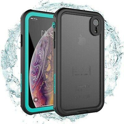 iphone xr waterproof case shockproof snowproof dustproof