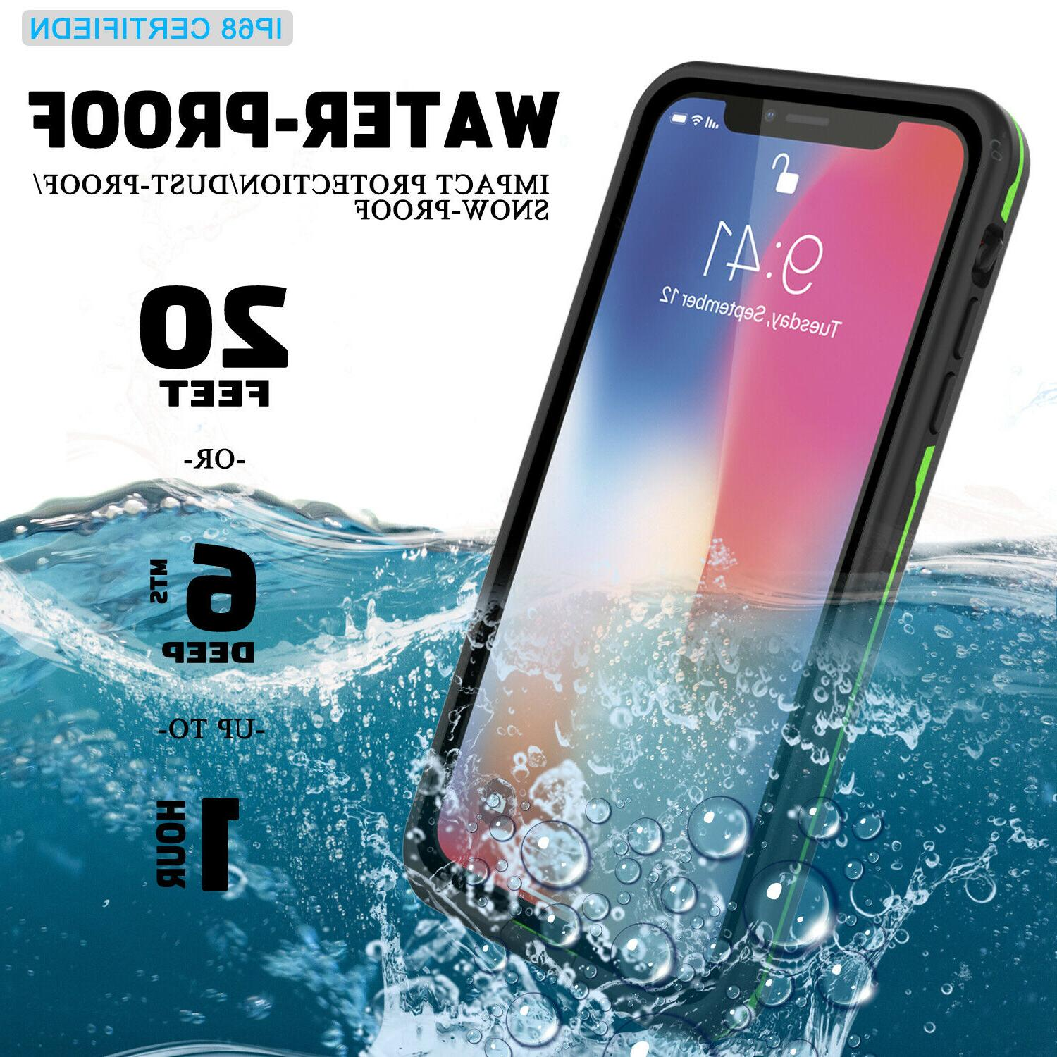 For iPhone 11 Pro/XR/XS Max IP68 Waterproof Shockproof Life